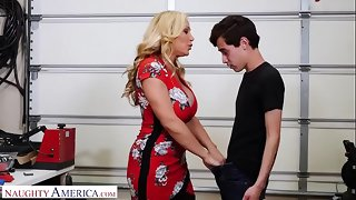 Discouraging America Tyler Coolness fucks son's side when hubby cheats
