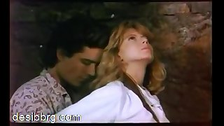 Hollywood Sex 1: Blonde Fiona Gelin gets fucked on a horse. Scirocco (1987)
