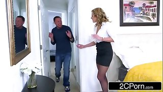 April Fool's Robbery Goes Wrong - Cory Chase Cuckolds Say no to Husband