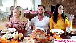 Who's Hotter - Competing Be proper of His Thanksgiving Creampie S10:E6