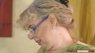 get under one's young guy fucks get under one's elderly cleaning lady