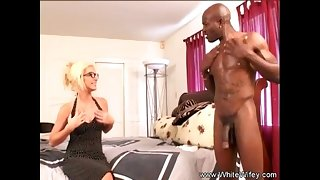 Tow-headed MILF Lets Sinister Neighbor Fuck Her