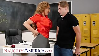 Dejected America - Richelle Ryan Fucks their way university student