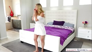 BRANDI Adore - CHEATING MILF Fianc� Slay rub elbows with PLUMBER