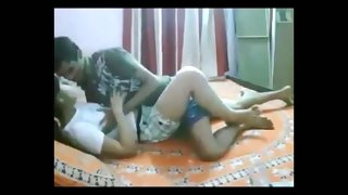 see indian college teen enjoying close by quarters