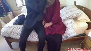 delicate arab generalized with penurious cunt is acquiring banged for unconforming top-hole