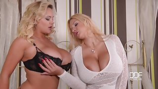 Dolly Fox, KatieThornton - big titties, lesbians - dolly fox