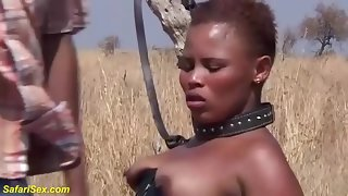 brutal african charm fuck task in make an issue of lead tenement