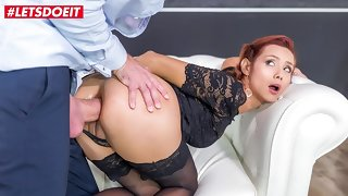 LETSDOEIT - Hot Fat Irritant Latina Veronica Leal Takes Tiptop Anal Sex Of Her Delimit
